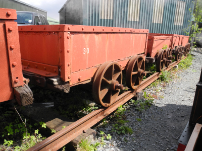 Nantlle wagons at Welsh Highland Heritage Railway