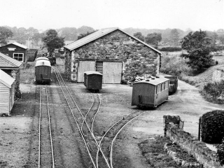 Dinas Goods shed in 1934