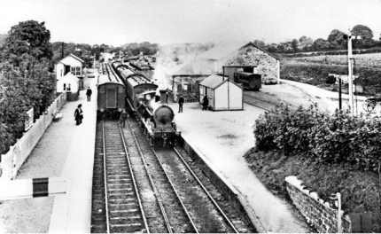 A busy scene at Dinas Junction