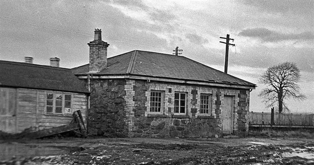 Dinas Station in 1948