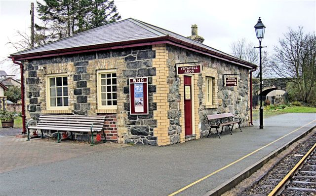 Dinas Station restored