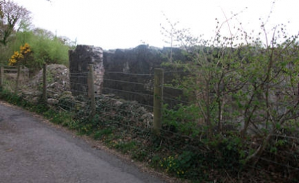 The same place in 2010 - tidied up and fenced